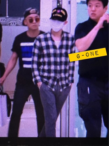 Big Bang - Gimpo Airport - 07jun2015 - G-Dragon - G-One - 01