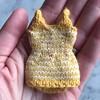 Iron Craft '16 Challenge 17 - Tiny, knit retro swimsuit