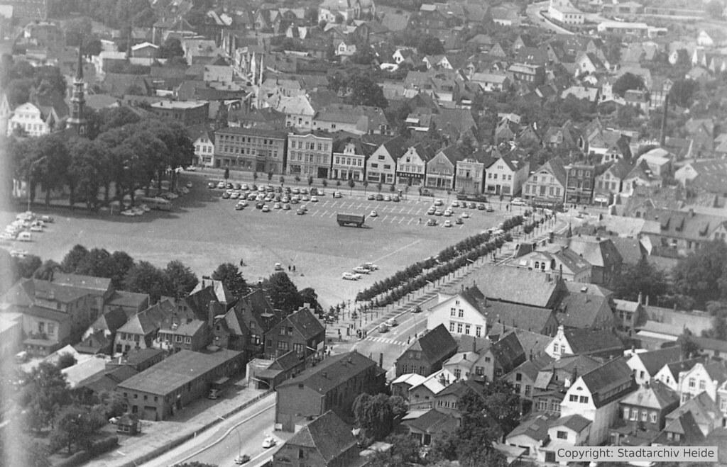 Marktplatz in den 1960er Jahren