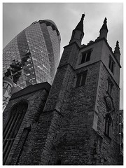 St Andrew Undershaft and friend.