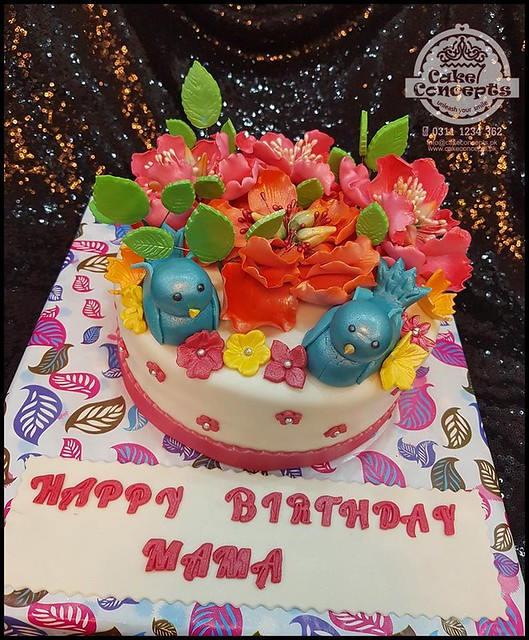 Flowers Beauty for Mom by Sobia Ishfaq of Cake Concepts