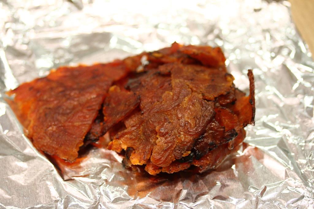 The Ultimate Bak Kwa Taste Test: Low Seng Kim Bak Kwa (sliced pork)