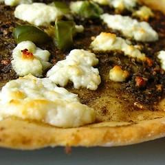 Za'atar and Feta Pizza