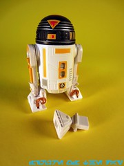 Yellow R7-Series Astromech Droid