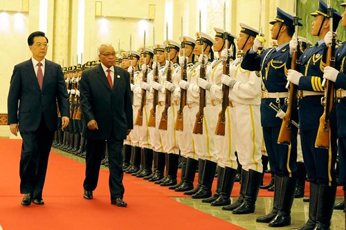 President Jacob Zuma attends the 5th Forum on China - Africa Cooperation, 18 July 2012.