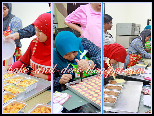 Baking & Deco Class: Special Raya ~ 28 July 2012