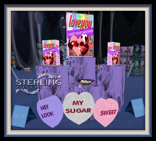 """""""LoveYou"""" Candy Hearts"""
