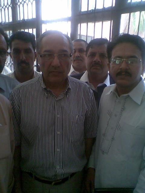 ch.husnain chairman thermal power station muzaffar garh & general secretary janubi punjab pegham union mepco multan (division)