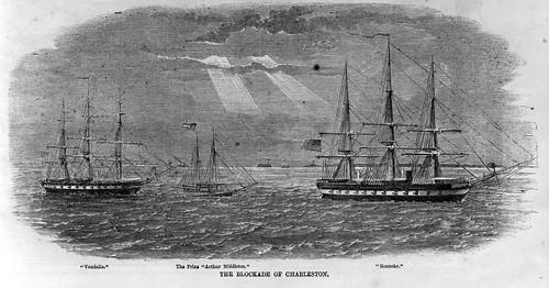 The Blockade of Charleston
