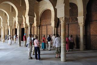 0293-20101016_Tunisia-Kairouan-Zitouna Mosque-the Doors to the main building of the Mosque
