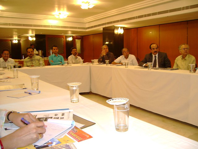 ERP Training at the Bombay Industries President