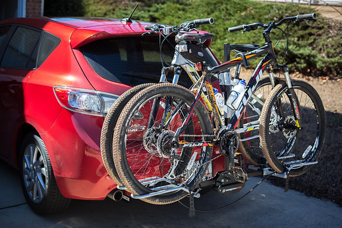 Tim_in_GA Wrote: I Have The Swagman XTC 2 And Love It. Works Great To Hold  Two Mountain Bikes On My Mazda3 And Seems Very Stable.