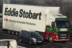 Volvo FH 6x2 Tractor - PX11 BYF - Edith Danni - Eddie Stobart - M1 J10 Luton - Steven Gray - IMG_0842