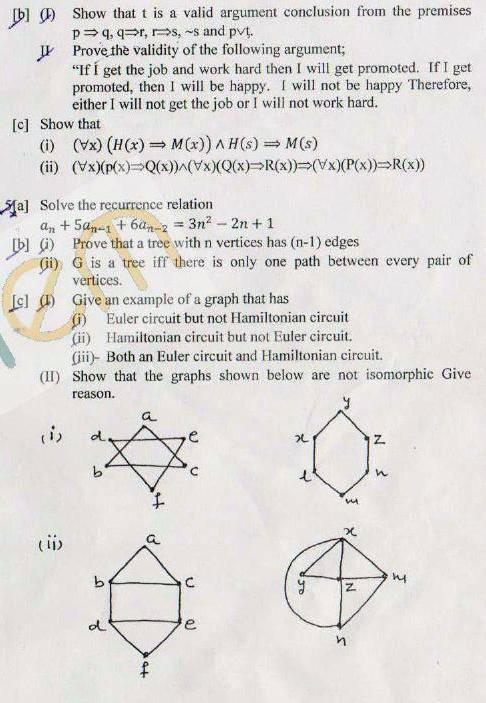 DTU Question Papers 2011 - 3 Semester - End Sem - COE-SE-205