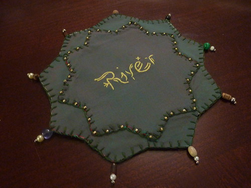 River Song Prayer Leaf Front