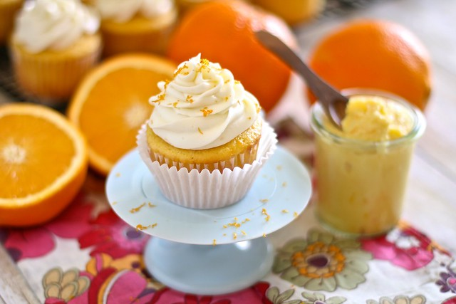 Orange Blossom Cupckaes 007
