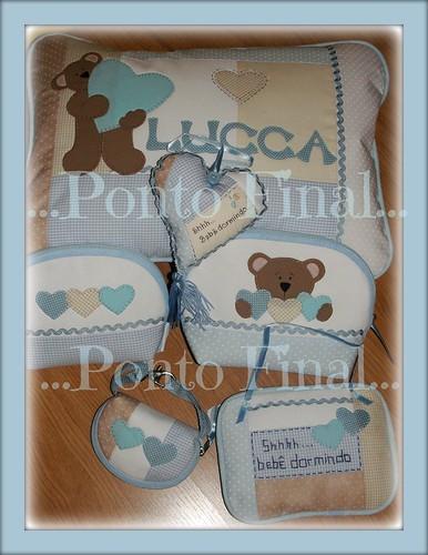 ...Kit em patchwork e aplicações para menino... by Ponto Final - Patchwork