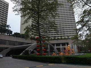 日本大使館がホテル