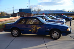 1992 Ford Mustang Michigan State Police car