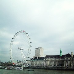 Obligatory London Eye photo.