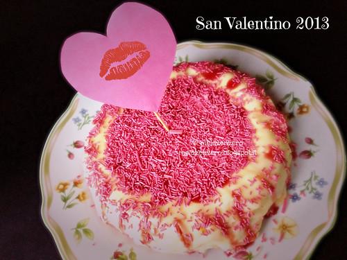 NewYork Cheesecake con glassa alle fragoline di bosco e cioccolato bianco