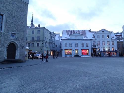 Tallin Marktplatz Winter 2