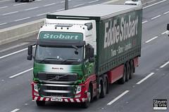 Volvo FH 6x2 Tractor - PX10 DFN - Beatrix Ella - Eddie Stobart - M1 J10 Luton - Steven Gray - IMG_2538
