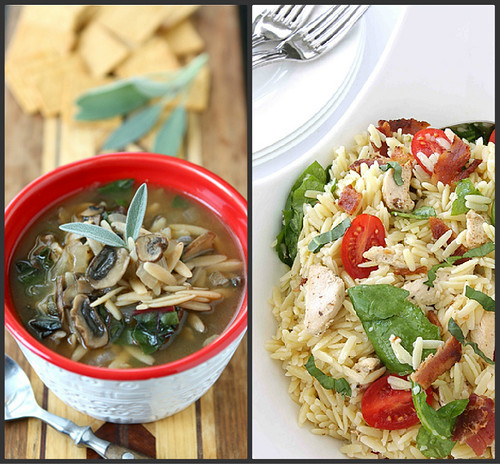 Hearty Chicken Sausage, Roasted Pepper & Whole Wheat Orzo