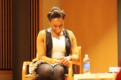 The College of Arts and Humanities presented 2008 MacArthur Foundation Fellowship recipient and award-winning Nigerian author, Chimamanda Adichie, in the third installment of the 2012-13 WORLDWISE Arts and Humanities Dean's Lecture Series.