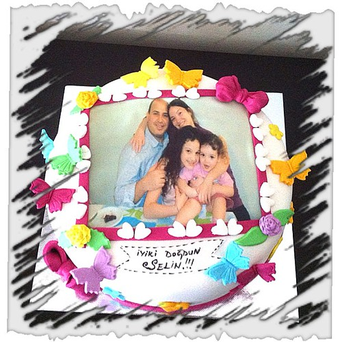 #birthdaycake #photo#sugarart #sugarpaste #sekerhamurlupastalar by l'atelier de ronitte