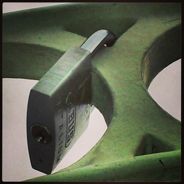 The locks on Ha'penny bridge 5. #dublin #dublinireland #locks #wishes #bridge