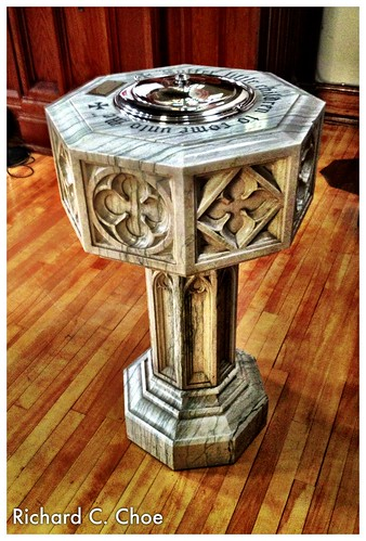 Baptism Font (2013, 2.24) by rchoephoto