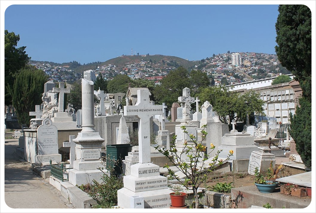 valparaiso dissident cemetery
