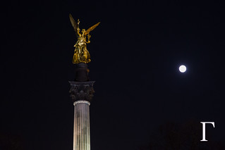 Angel and The Full Moon