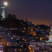 Moon Over Telegraph Hill by Eric Dugan