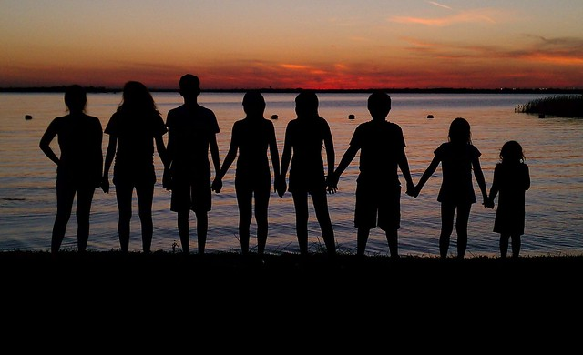 Cedar Hill State Park Sunset My Beautiful Children