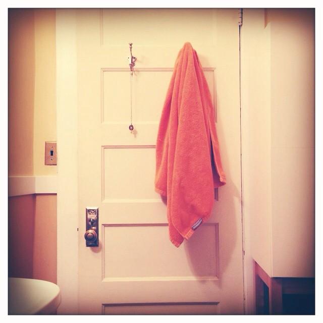 fresh towel