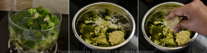 How to make oven roasted broccoli - Step1
