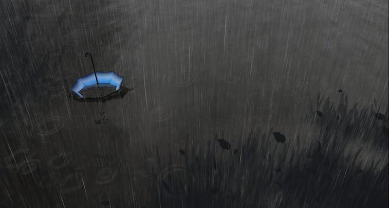 2304 Rain - Blue