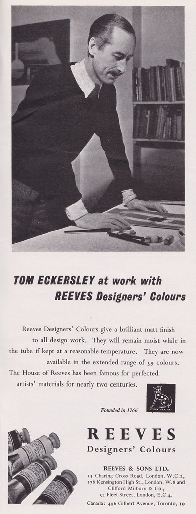 Reeves - designers at work, c1958