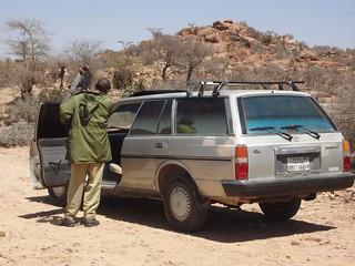 Taxi que me levou até Las Gaal e Berbera