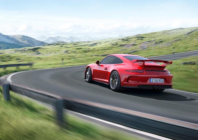 2014 Porsche 911 GT3 rear left