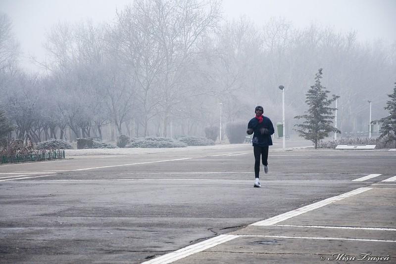 La alargat prin ceața