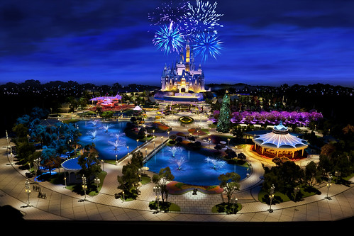 Shanghai Disney - First Model Image