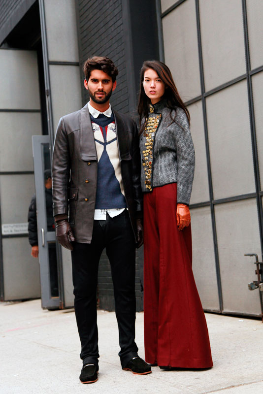 dusankaori street style, street fashion, women, men, NYC, NYFW, Quick Shots