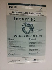 Divulgación internet