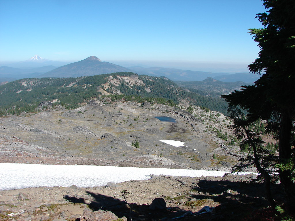 Mt. Hood, Olallie Butte and Sara Jane Lake