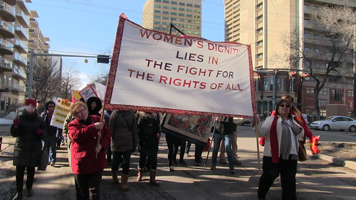 International Women's Day March 2013