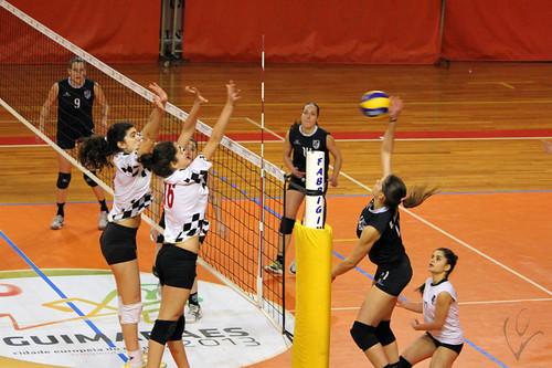 Voleibol Seniores Femininos: Vitória SC 1-3 Boavista