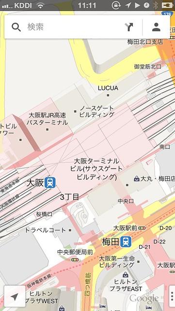 大阪駅Google